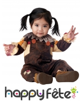 Costume d'épouvantail pour bébé, image 1
