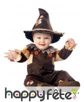 Costume d'épouvantail pour bébé