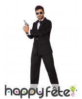 Costume d'espion en smoking pour homme