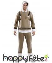 Costume d'esquimau pour adulte