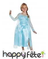 Costume de Elsa pour enfant, Reine des neiges