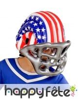 Casque de footballeur americain gonflable, image 1