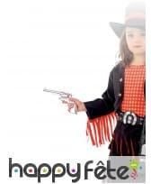Colt du Far West argenté pour enfant, image 2