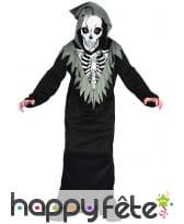 Costume de faucheur squelette pour enfant