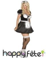 Costume de femme de ménage sexy française, image 2
