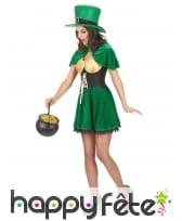 Costume de femme leprechaun, image 1
