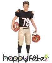 Costume de footballeur américain pour enfant