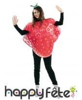 Costume de fraise pour adulte