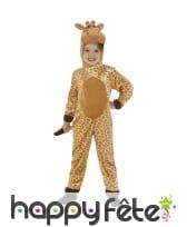 Combinaison de girafe pour enfant