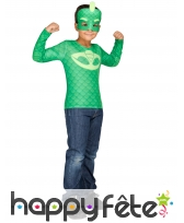 Costume de Gluglu Gekko pour enfant, Pyjamasques