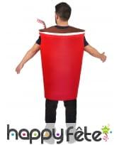 Costume de gobelet cola pour adulte, image 2