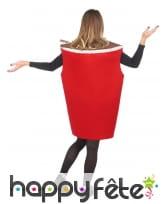 Costume de gobelet cola pour adulte, image 3