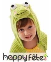 Costume de grenouille verte pour enfant, image 1