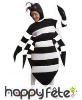 Costume de gros moustique tigre pour enfant