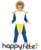 Costume de guerrier manga pour enfant