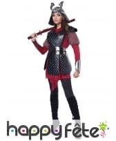 Costume de guerrier samourai pour femme, image 1