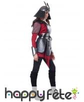 Costume de guerrier samourai pour femme, image 3