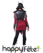 Costume de guerrier samourai pour femme, image 4