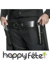 Ceinture double holster de bandit