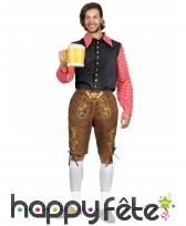 Costume d'homme Bavarois en short