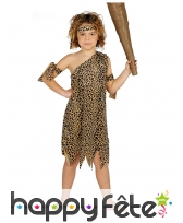 Costume d'homme préhistorique pour enfant
