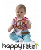 Costume de hippie pour bébé