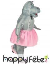 Costume de hippo ballerine gonflable pour adulte, image 2