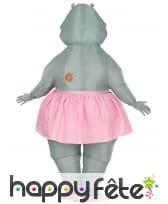 Costume de hippo ballerine gonflable pour adulte, image 3