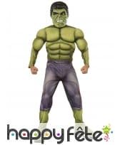 Costume de Hulk Ragnarok musclé pour enfant
