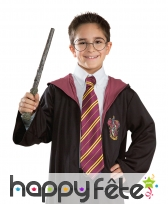Cravate de Harry Potter, licence officielle