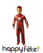 Combinaison de Iron Man civil wars pour enfant