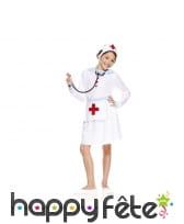 Costume d'infirmière blanc pour enfant