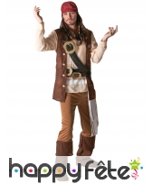 Costume de Jack Sparrow pour adulte