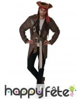 Costume de Jack Sparrow taille adulte