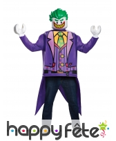 Costume de Joker Lego pour adulte