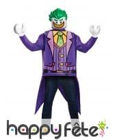 Costume de Joker Lego pour adulte