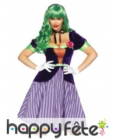 Costume du Joker violet pour femme, luxe