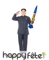 Costume de Kim Jong un pour adulte, image 1