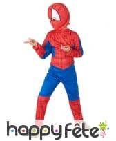 Combinaison de l'homme araignée pour garçon, image 1