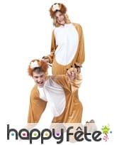 Combinaison de lion pour adulte