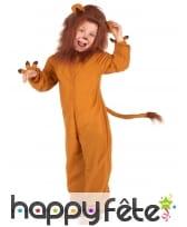 Combinaison de lion roi de la jungle pour enfant, image 1