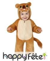 Combinaison de lionceau pour bébé