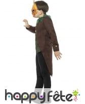 Costume de l'homme citrouille pour enfant, image 2