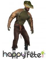 Costume de l'homme crocodile pour adulte, image 1