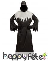 Costume de la mort noir et blanc pour adulte, image 1