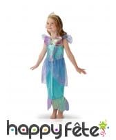 Costume de la princesse Ariel avec diadème