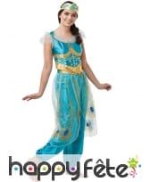 Costume de la Princesse Jasmine pour adulte