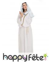 Costume de la Sainte Vierge pour femme
