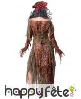 Costume de la sorcière du lac pour adulte, image 2