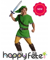 Costume de Link pour homme, ZELDA